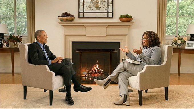 Sy het ook in 2006 'n onderhoud gevoer met Barack