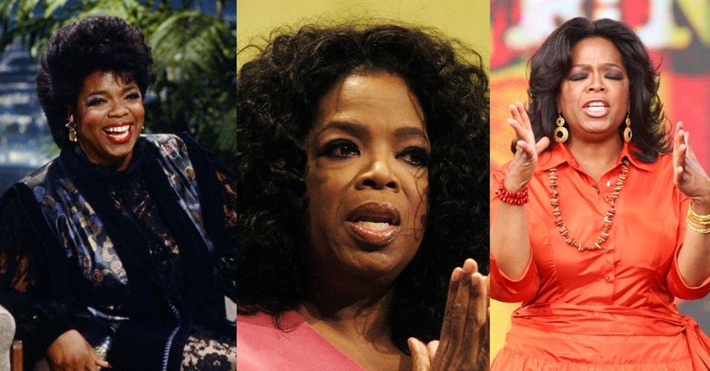 Oprah oor die jare.