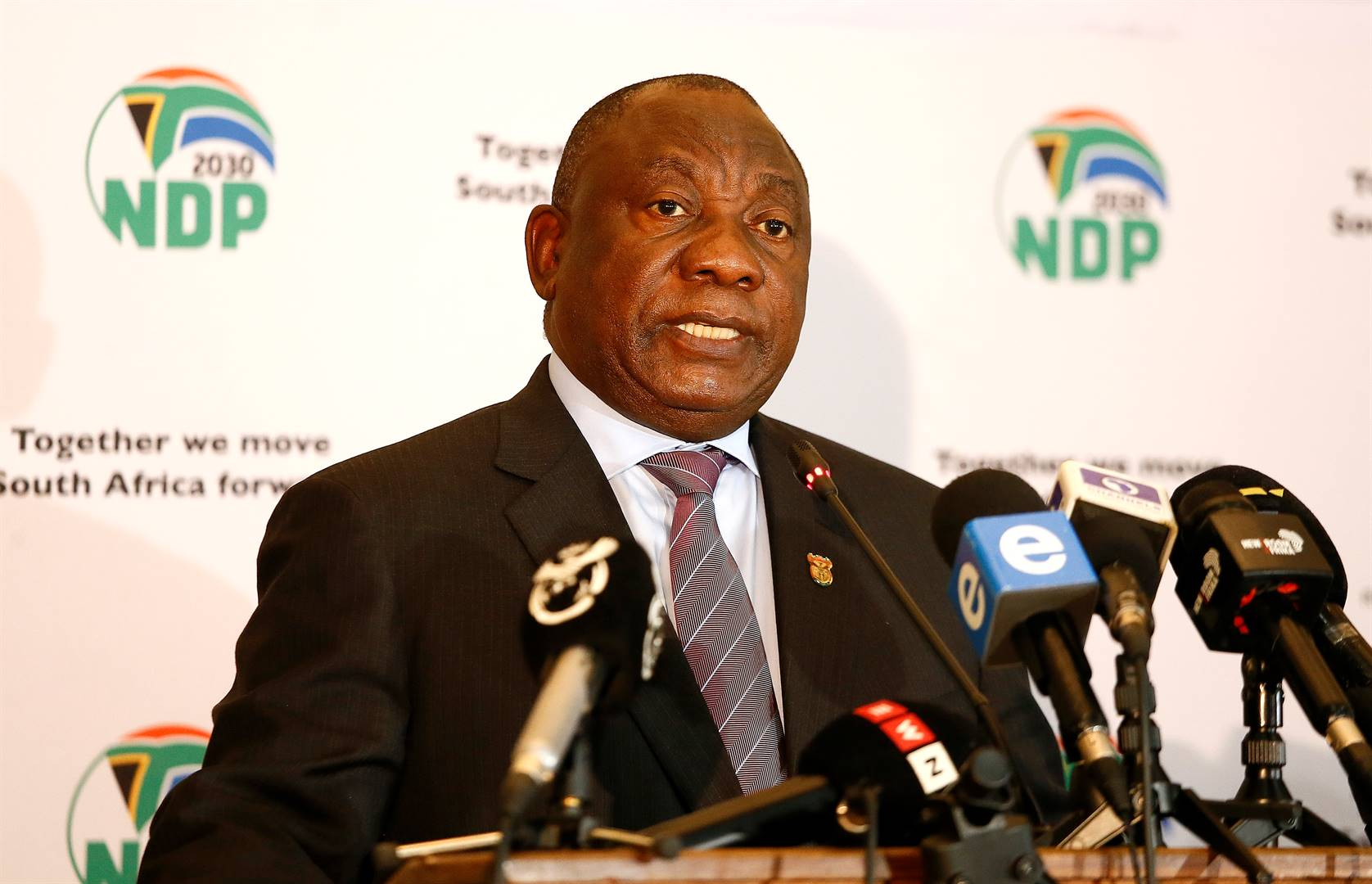 President Cyril Ramaphosa. (Photo: Getty Images)