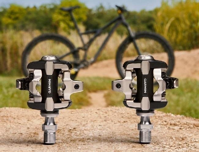 These Garmin power meter pedals are tough enough for mountain biking (Photo: Garmin)