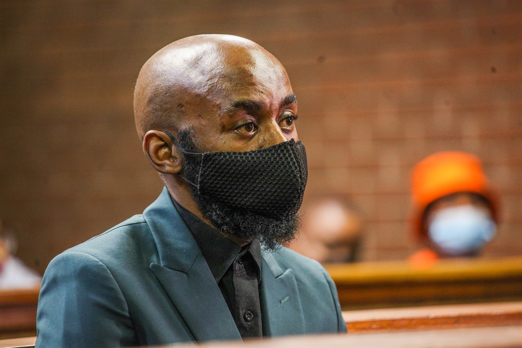 The alleged mastermind behind Tshegofatso Pule's murder, Ntuthuko Shoba appears in court. (Photo: Sharon Seretlo/Gallo Images)