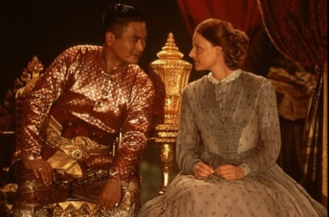 Jodie Foster and Chow Yun Fat in Anna and the King