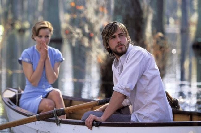 Rachel McAdams and Ryan Gosling in The Notebook (C