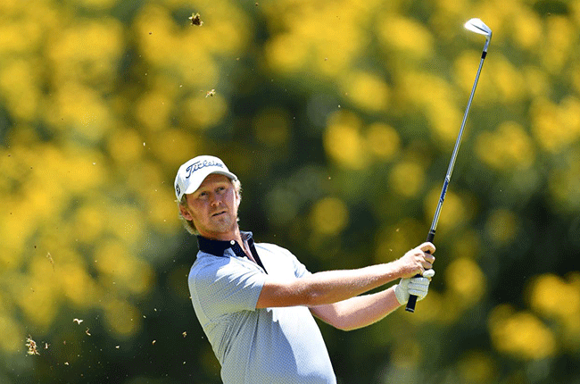 South African golfer Justin Harding (Getty Images)