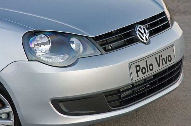 2010 Volkswagen Polo Vivo, also referred to as the 9N3 model.