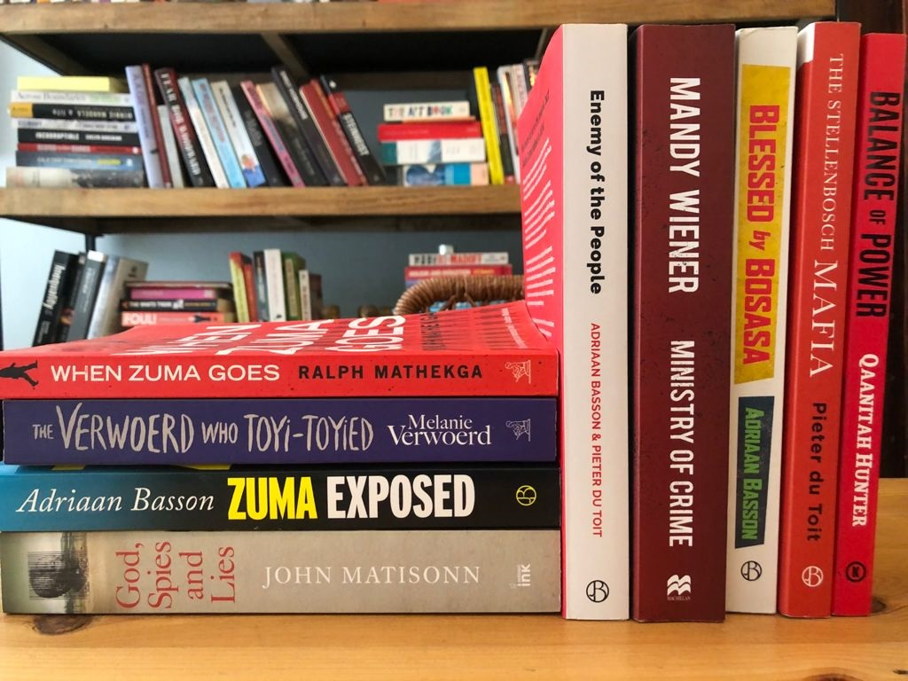 Several of News24's journalists and contributors are published authors.