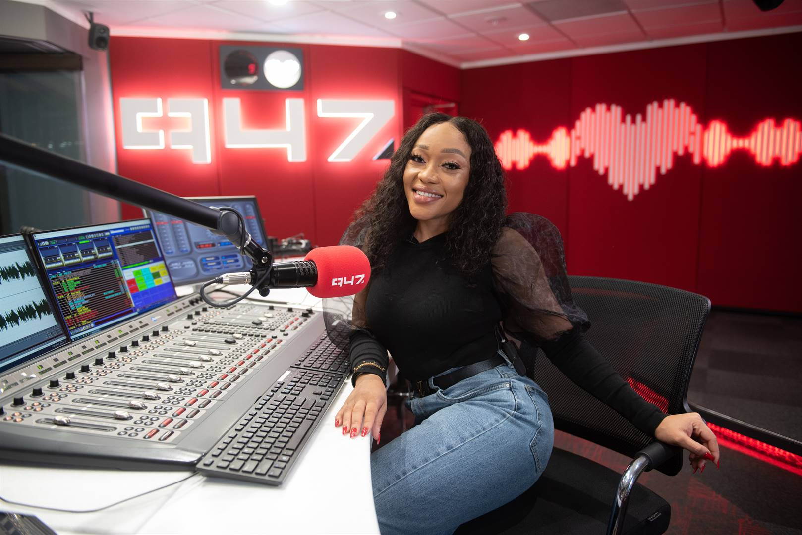 Thando Thabethe has returned to our airwaves. Picture: Supplied