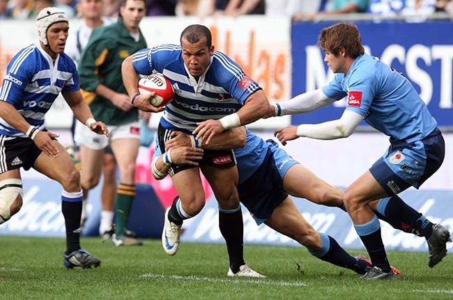 Centre Morgan Newman in action for Western Province against the Blue Bulls at Newlands in 2009. (Photo by Carl Fourie/Gallo Images)