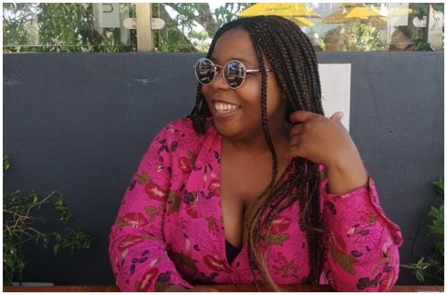 Asanda Munyu says that her life has changed after she got a breast reduction surgery.