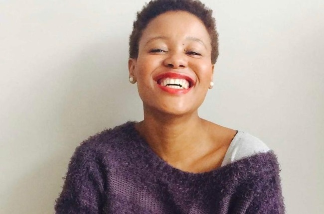 Lindelwa Skenjana, the author of The Black Girl's Guide to Corporate South Africa