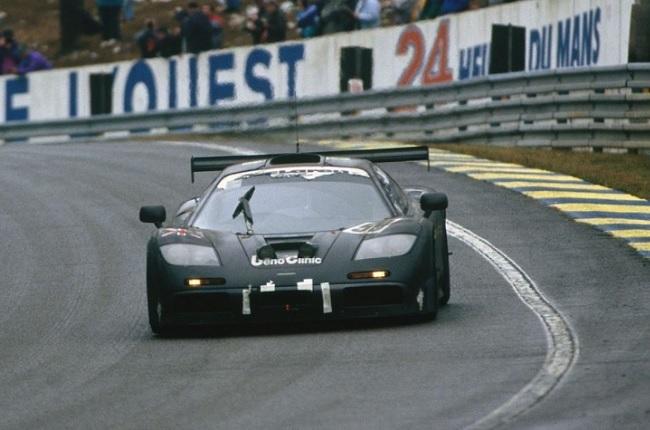 1995 McLaren F1 GTR at Le Mans.