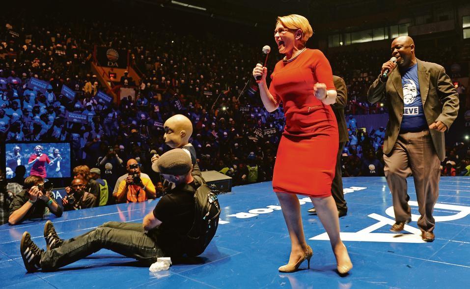 Lank voordat die poppe begin dans het: Helen Zille