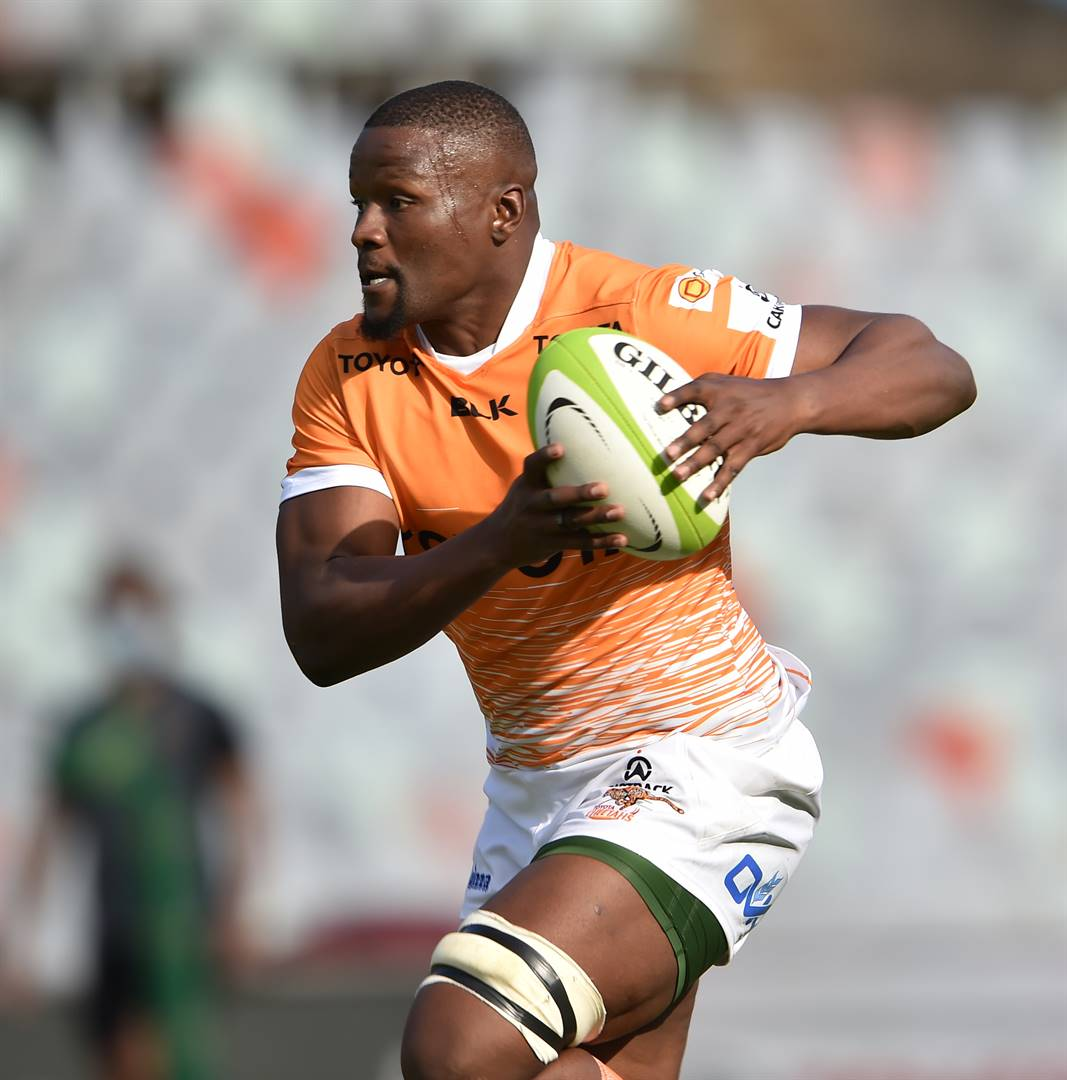 Oupa Mohoje of the Toyota Cheetahs could be on his way to the Bulls Picture: Johan Pretorius / Gallo Images