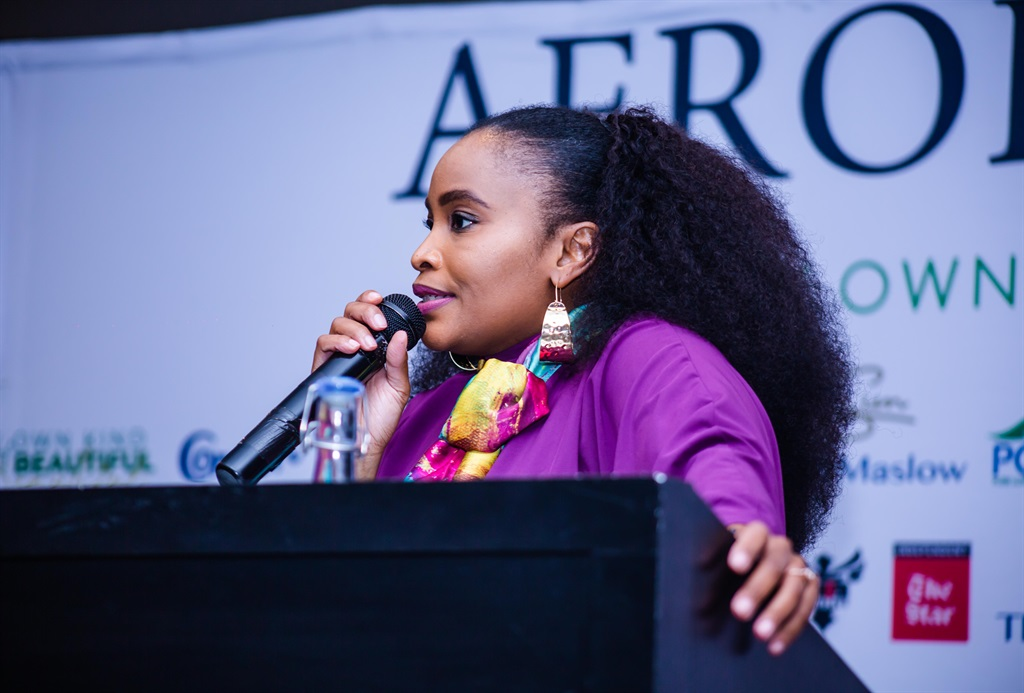Inside AfroBotanics' 'My Own Kind of Beautiful' event hosted at The Maslow in Johannesburg. Image: Supplied