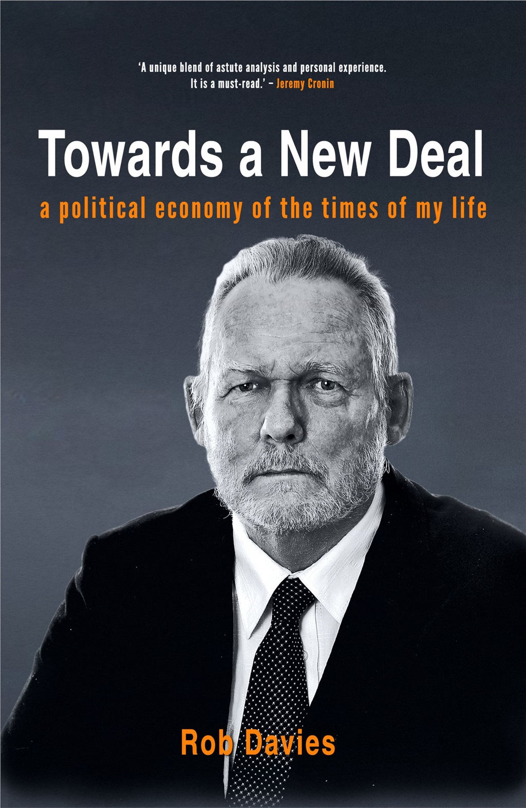 Cover of 'Towards a new deal' (Supplied)