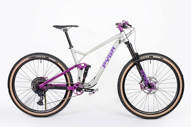 Pyga is a South African mountain bike brand that blends skillful aluminium fabrication, with progressive geometry (Photo: Pyga)