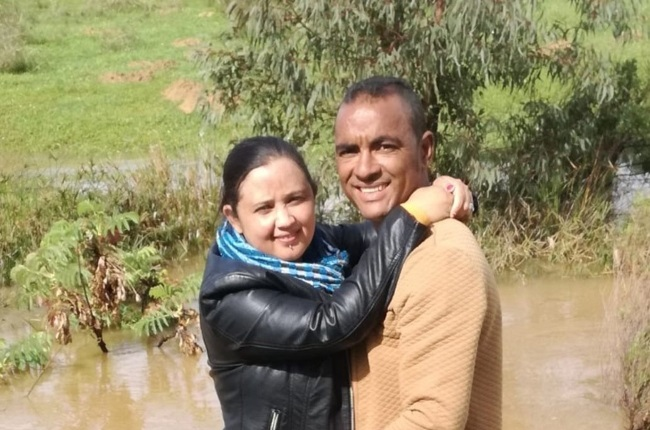 Bradley Arendse says the moment he and his wife Sandy held Kayden in their arms their world fell apart. (Photo: Facebook/ Sandy Arendse)