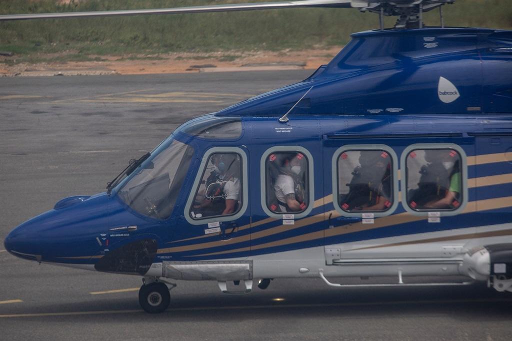 Hoewel duisende mense deur helikopters gered is, is die dodetal onbekend. Foto: Getty Images/Gallo Images