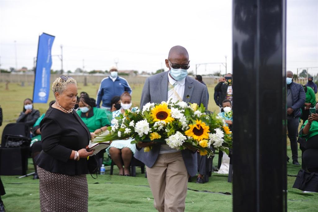 SOWETO, SOUTH AFRICA - APRIL 07: Charlotte Maxeke
