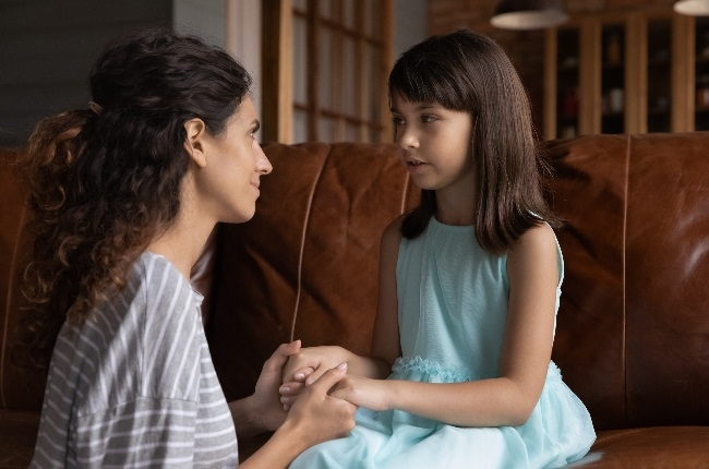 Parents should encourage children to put their emotions into words so kids can understand their feelings. (Photo: GALLO IMAGES/GETTY IMAGES)