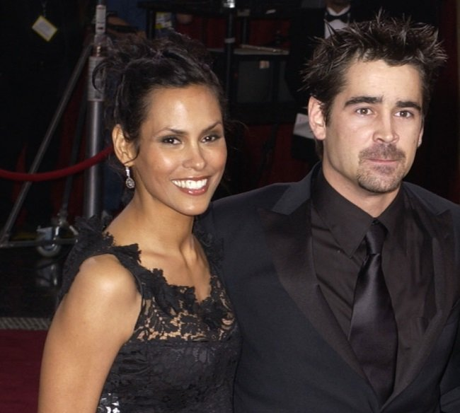 Irish actor Colin Farrell dated model Kim Bordenave from 2003 until 2007. The pair are parents to 17-year-old son, James. (CREDIT: Gallo Images / Getty Images)