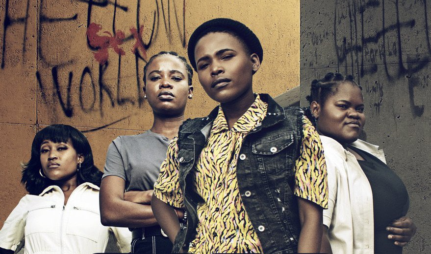 Described as a crime thriller, the series is set in Diepsloot, a township in Johannesburg. Picture: Supplied