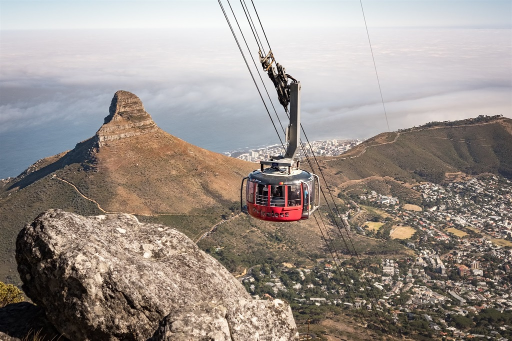 Table Mountain Cable Car. Photo: Andrew Thompson