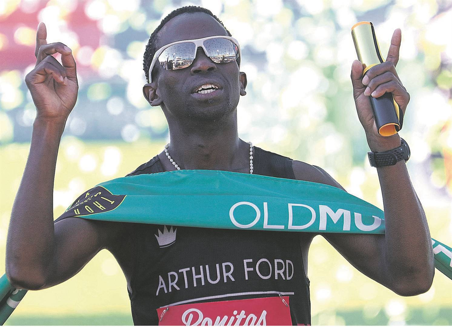 Comrades Marathon star Bongmusa Mthembu is looking forward to the Nedbank Runified Breaking Barriers 50-km race on Sunday.