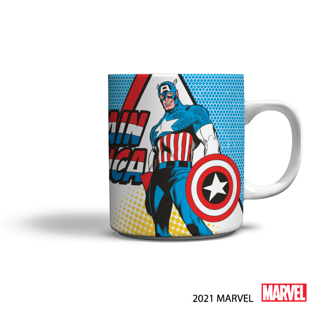 One of the coffee mugs available at Food Lover's M