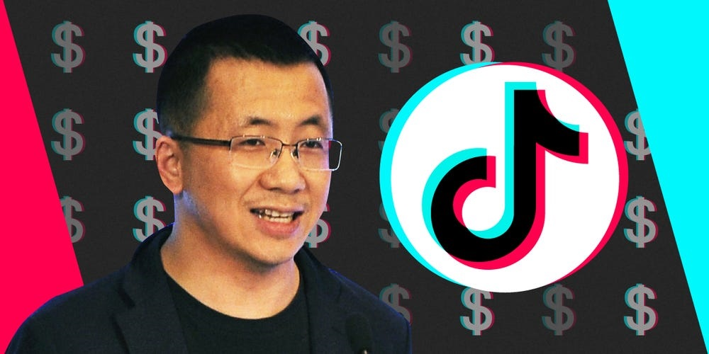 TikTok ByteDance CEO Zhang Yiming is stepping dow