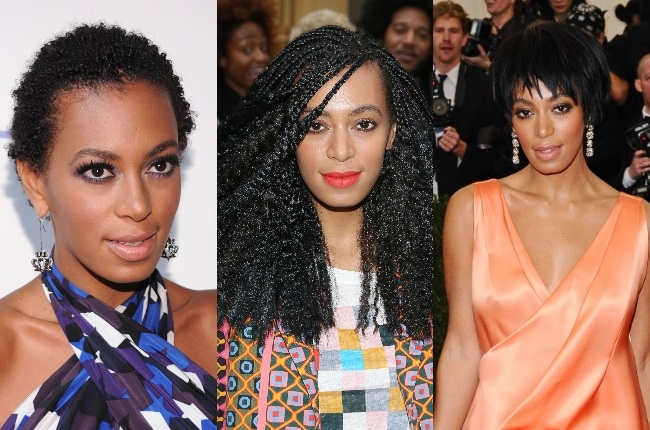 Solange Knowles is a very expressive artist and often makes a statement with her hair.