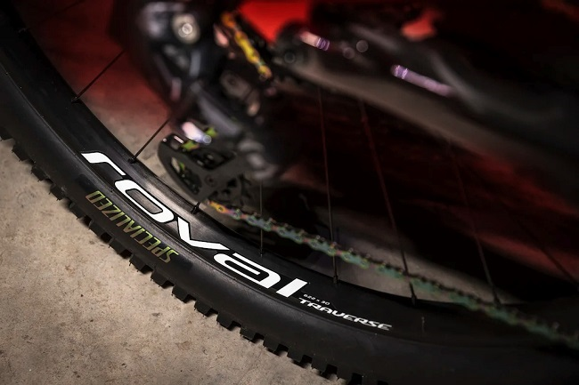 A well known name in mountain biking, these are the new alloy Roval wheels (Photo: Roval)
