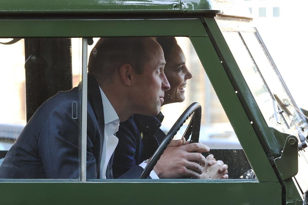 Prins William en Kate het hulle gate uit geniet.