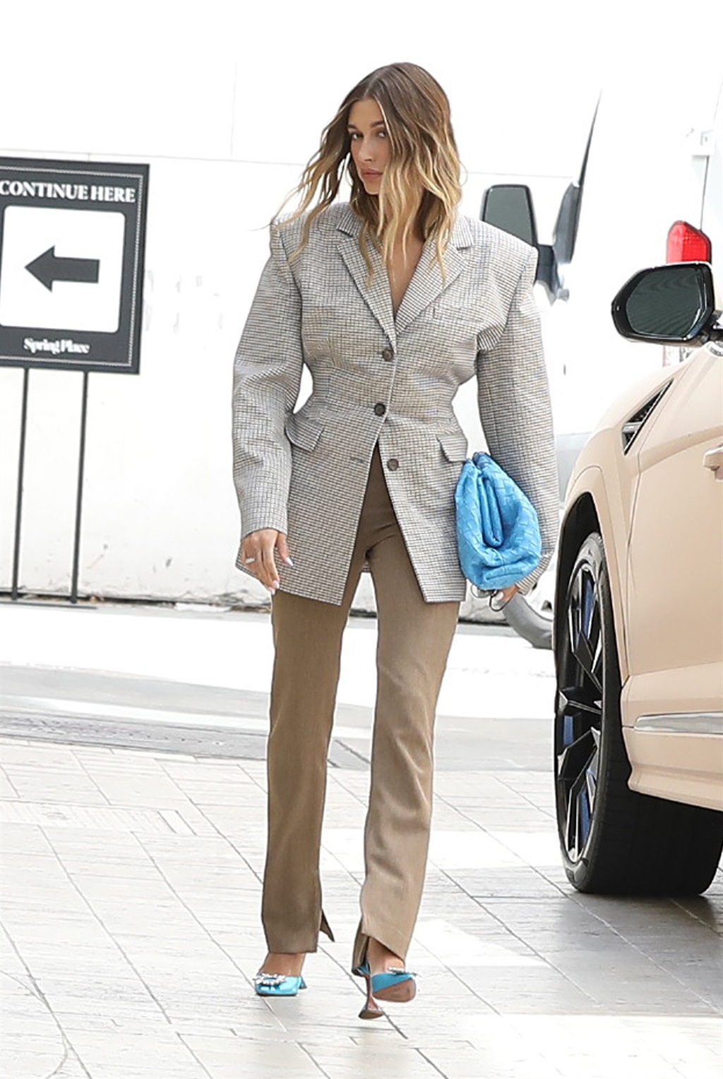 05/26/2021 Victoria Beckham is pictured leaving he