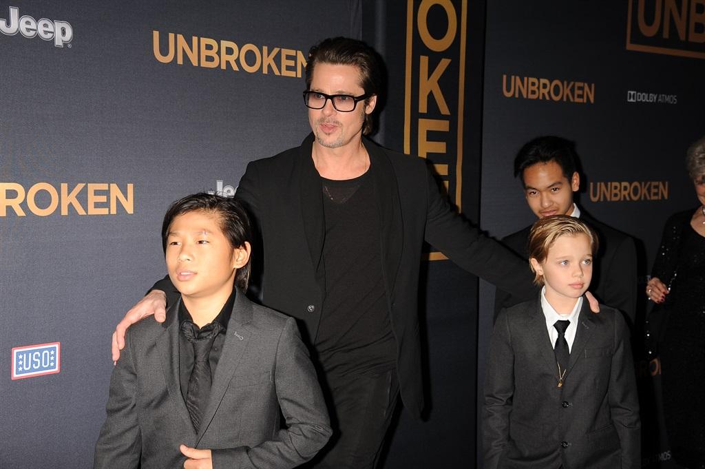 Brad by sy kinders, Pax Jolie-Pitt, Shiloh Jolie-P