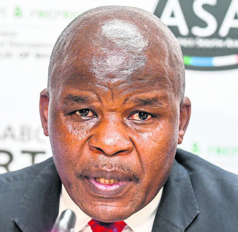 Confederation of African Athletics Southern Region 5 secretary-general Aleck Skhosana.