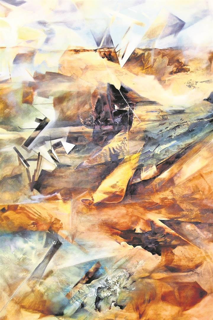 'n Landskapskildery deur Grettel Osorio Hernandez.