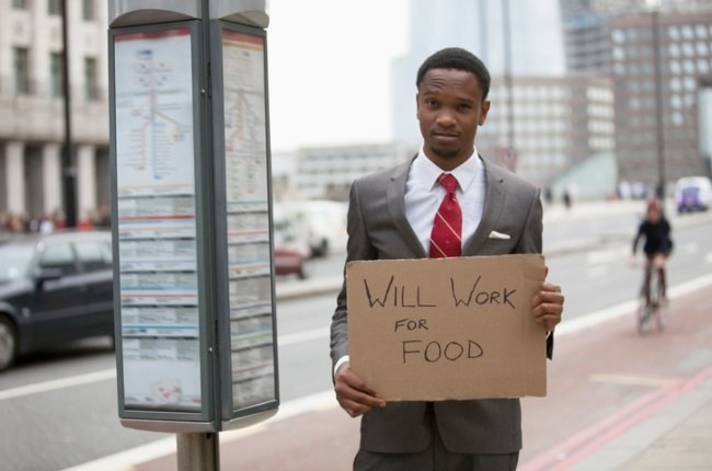 Young people are desperate and begging for work just to put food on the table.