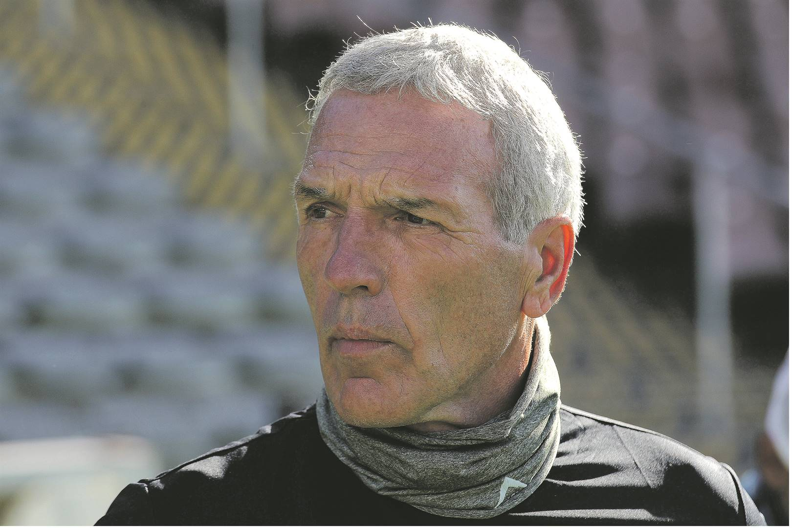 Maritzburg United coach Ernst Middendorp sees his men fighting for league security on Saturday.