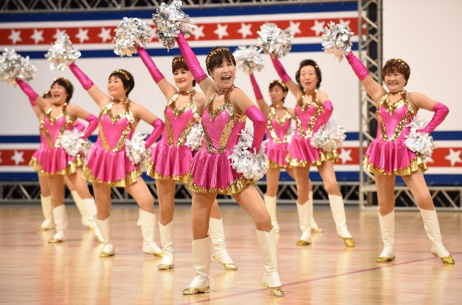 Cheerleading squad Japan Pom Pom has competed at the United Spirit Association Nationals in the US for years. (PHOTO: GALLO IMAGES / GETTY IMAGES)