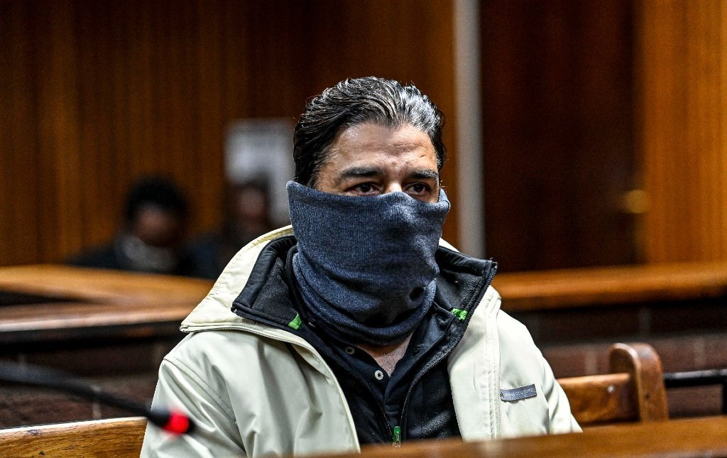 Former Transnet board member and Gupta associate Iqbal Sharma during his appearance for a bail application at the Bloemfontein Magistrate's Court on 7 June 2021.