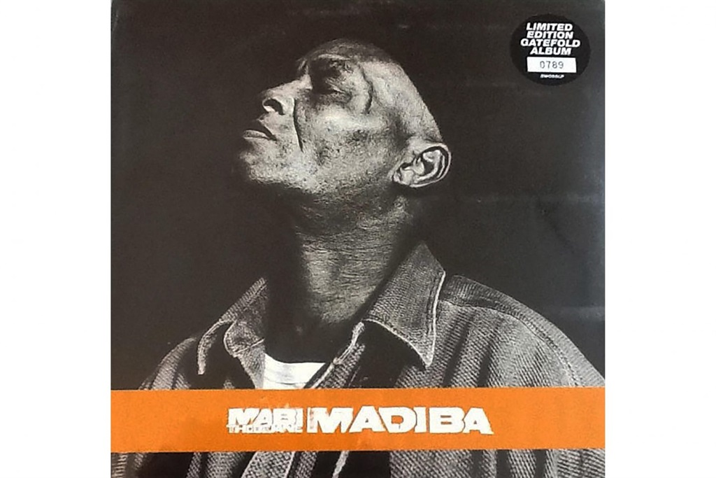 The cover of Mabi Thobejane's album Madiba, which