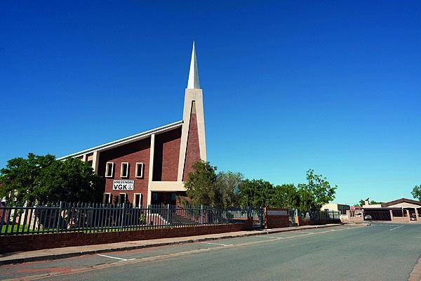Die Verenigde Gereformeerde Kerk op Vredendal. Fot