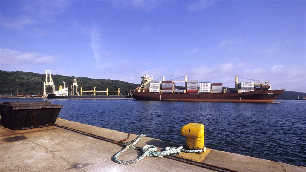 A file image of the Durban harbour. (File/Getty)
