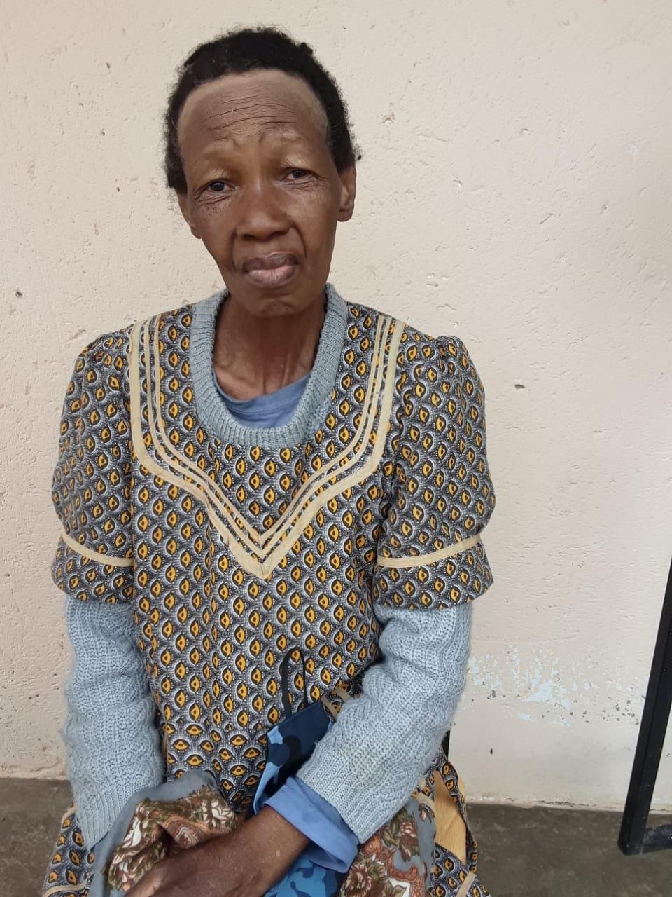 Gogo Martha Msiza died two months ago.