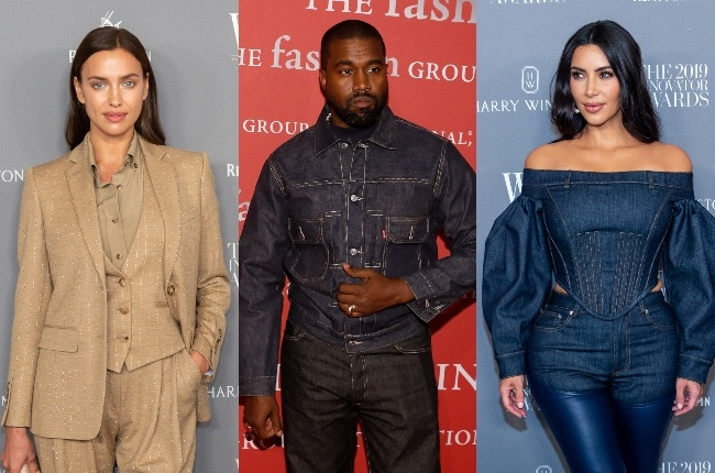 Irina Shayk has been spotted in France with Kanye West as the rapper looks to move on from estranged wife Kim Kardashian. (PHOTO: Gallo Images / Getty Images)