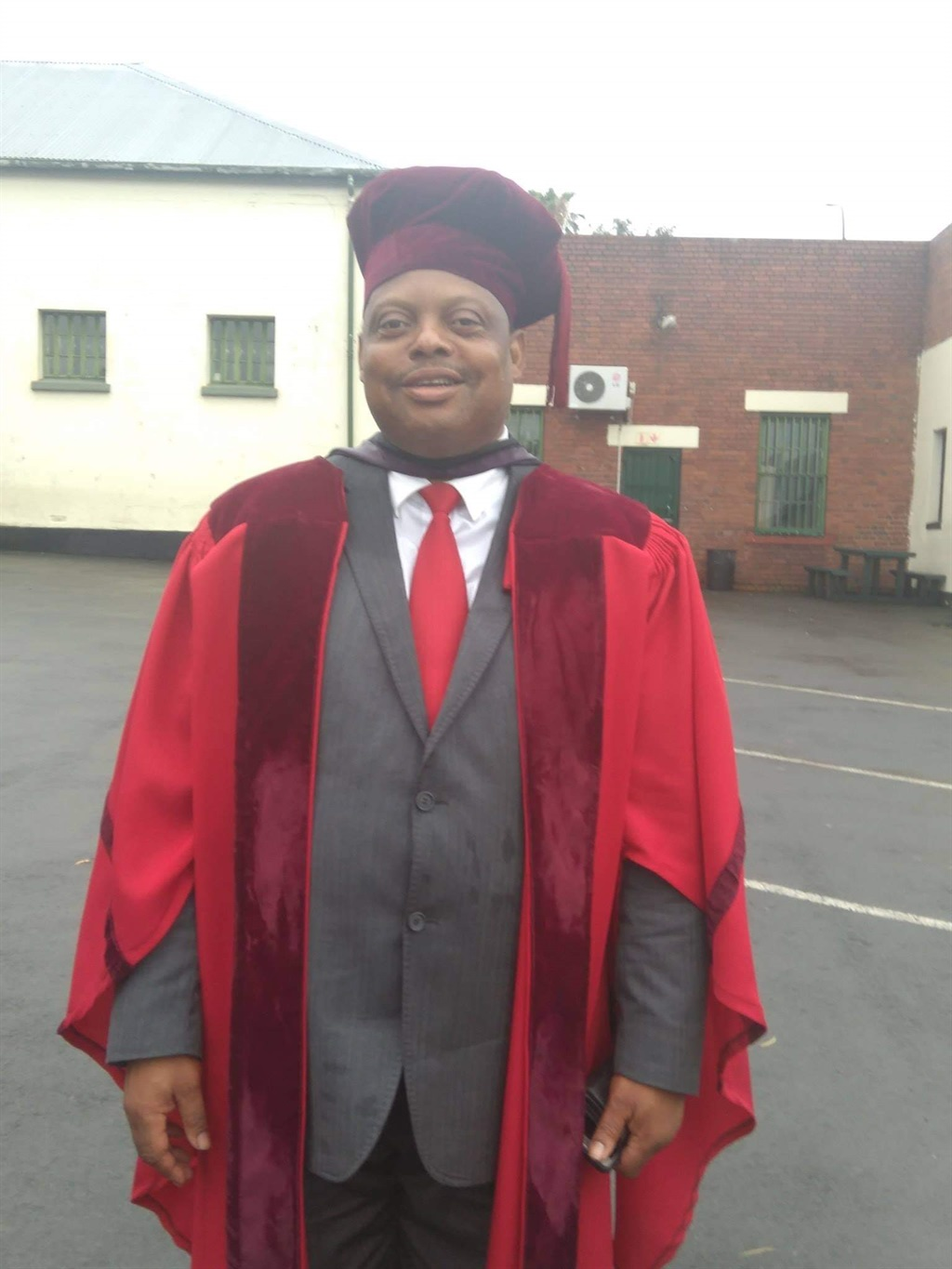 DR Muzi Sibiya, the founder and station manager of