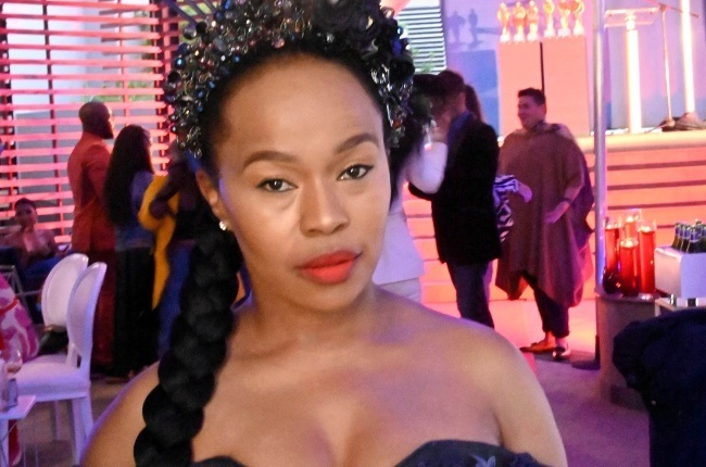 Sindi Dlathu is giving away three of her dresses to deserving matric pupils