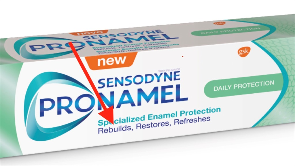Sensodyne blocked from claiming its toothpaste can rebuild enamel once lost