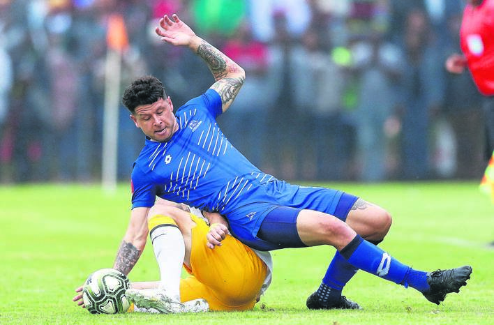 Daniel Morgan is part of a group of players released by Maritzburg United.